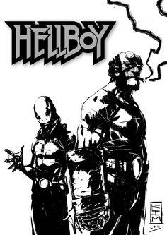 Hellboy & Abe Sapien - Kim Jacinto