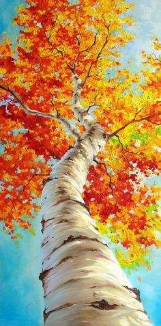 Water-colour tree, this is amazing.
