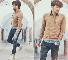 Life is all about timing (by Mohcine Aoki) http://lookbook.nu/look/3127165-Life-is-all-about-timing