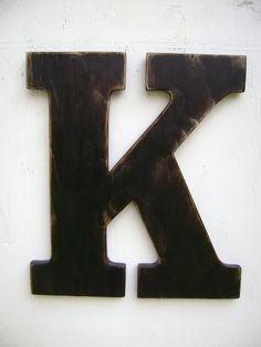Letters on pinterest wooden letters large wooden for Big wooden letter b