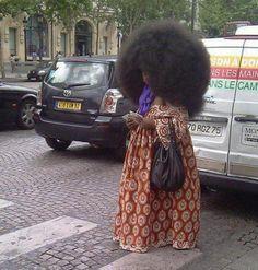 L'afro le plus connu de Paris