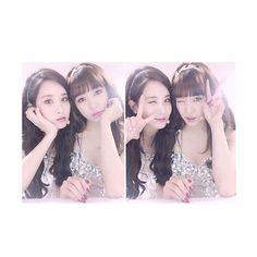 Girls generation; Seohyun y Tiffany