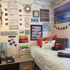 Pretty dorm room!