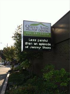 Less pain than an episode of Jersey Shore.