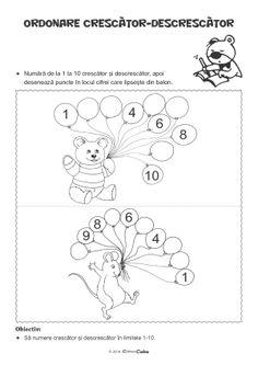 Fise de Lucru - Editura Caba - Carti, caiete de lucru, materiale didactice Montessori, Worksheets, Preschool, Projects To Try, Teaching, Activities, Education, Homeschooling, Preschool Math