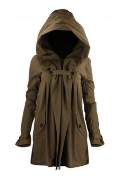 """This reminds me if a green version of Aragorn's hood/cloak in """"The Fellowship of the Ring"""""""