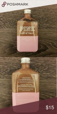 Pink luminous body bronzer wild at heart Body bronzer , has been opened but as you can see is full bottle PINK Makeup Bronzer