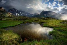 Pieces of light - Termignon, Rhone Alpes france