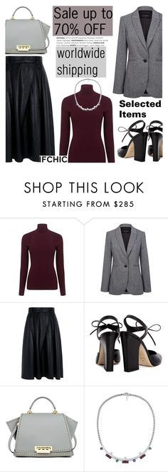 """Sale up to 70% off/selected items"" by ifchic ❤ liked on Polyvore featuring Pink Tartan, Dee Keller, ZAC Zac Posen and Joomi Lim"