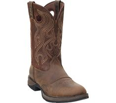 Ariat 174 Nitro Mens Roughout Black Caiman Belly Double Welt