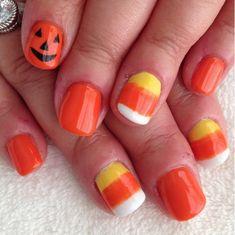 Fancy Nails, Cute Nails, Pretty Nails, Cute Halloween Nails, Halloween Nail Designs, Spooky Halloween, Halloween Ideas, Happy Halloween, Kid Nail Designs