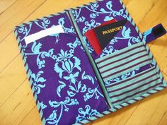 Cool Wallets - 8 Tutorials for sewing a passport pouch | patchwork posse #thatseasier #wallets #cool