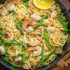 Pasta Recipes Video, Shrimp Pasta Recipes, Seafood Recipes, Dinner Recipes, Cooking Recipes, Dinner Ideas, Meal Ideas, Lemon Shrimp Scampi Recipe, Shrimp Scampi Pasta