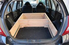Turning my Fit into a mobile camper! - Unofficial Honda FIT Forums