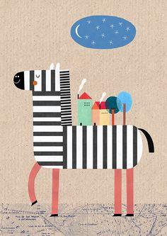 Animals. Part I by Teresa Bellon, via Behance
