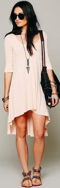 FP Drippy Jersey Dress ♥ + Accessories ♥ and Ladi...: