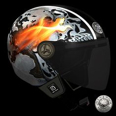 Casque de Moto New Rock (HELMET3D-S22)