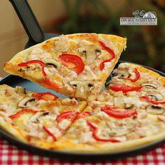 Din bucătăria mea: Pizza Pollo