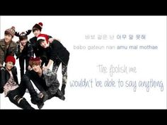 EXO-K - 첫 눈 (First Snow) (Color Coded Hangul/Rom/Eng Lyrics) - YouTube