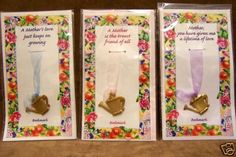 Pretty little bookmarks for Mother's Day