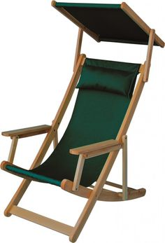 Deckchair Relax 0680 directly from producer, It is possible to complete with a little roof and footrest. The colour version and print can be made according to customer requirements. Pool Patio Furniture, Folding Furniture, Outdoor Garden Furniture, Garden Chairs, Unique Furniture, Outdoor Chairs, Adirondack Chairs, Ikea Lounge, Teak Rocking Chair