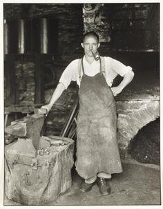August Sander Blacksmith c. 1930