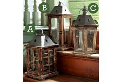 Park Hill Lantern - Terrace Lantern    $30.00@http://antiquefarmhouse.com/current-sale-events/outdoors.html
