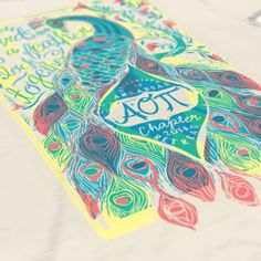 Alpha Omicron Pi - Birds of a Feather Flock Together Design - AOPi - Sorority T-shirts - AOPi shirts - Check out b-unlimited.com!