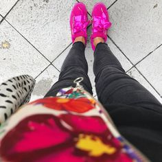 Color explosion on another rainy day Colorful Fashion, 6 Years, My Outfit, My Style, Day, Outfits, Shoes, Fashion Styles, Suits