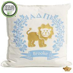 Sorority Logo Cushion - Alpha Delta Pi