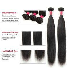 9a Peruvian Straight Human Hair Weft 4Bundles/Lot Silk Straight Hair Extension Black Hairstyles, Weave Hairstyles, Straight Hairstyles, Peruvian Hair, Hair Weft, Human Hair Extensions, Mink, Hair Styles, Beauty