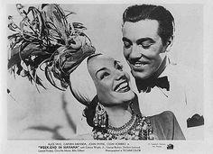 Cesar Romero y Carmen Miranda en A La Habana me voy (película de 1941)