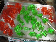 How to make clear toy candy / barley candy