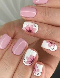 (Notitle) (notitle) Nail arts Related posts: 20 Popular Spring Nail Art Design Ideas 2020 Trend Kids educationTop Simple nail designs for short nails - short purple acrylic square . Kids nail designs and ideas for Coffin Acrylic Nails Kids . Pink Nail Art, Flower Nail Art, Nail Art Flower Designs, Flower Design Nails, Best Nail Art Designs, Nail Flowers, Daisy Nail Art, Purple Nail, Colorful Nails