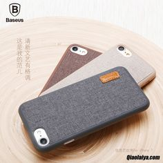Coque Pour Iphone 7, Coque Iphone 7 Cuir Apple Pourpre, Housse Coque Téléphone Jaune Vert