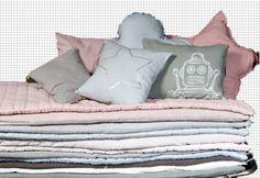 deco pour chambre enfant bebe linge de lit coton tatami lit de camp coussin en forme d etoile de cœur pastel  Numero 74 ou trouver