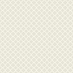 York Wallcoverings WA7822 Waverly Classics Framework Wallpaper Gray Fog / Cream Home Decor Wallpaper Wallpaper