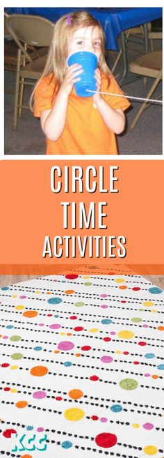 14 EASY Circle Time Activities for KIDS of all ages! #kidscreativechaos