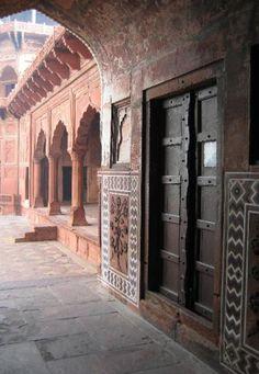 One of the many Taj Mahal doors