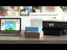 HP Instant Ink Video - Ink Replacement Service - YouTube