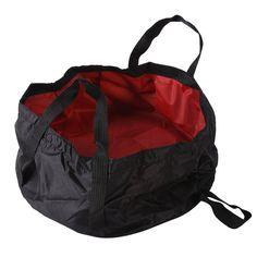 Outdoor 7-8.5L survival Folding Washbasin Camping Basin Camping Fishing Equipment Survival Military Travel Kits