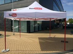 Customized tent for #YouTube Netherlands