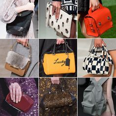 Best Runway Bags at New York Fashion Week Fall 2015 | POPSUGAR Fashion