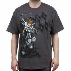 kingdom hearts shirts   ... com: Kingdom Hearts Final Form Sora (Grey) Mens T-Shirt , S: Clothing