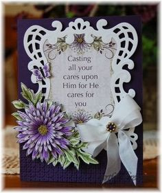 Delicate Asters Cast Your Cares