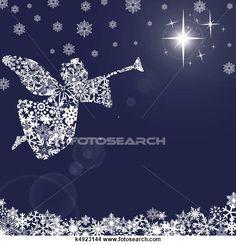Desenhos - natal, anjo, com, trompete, e, snowflakes, 2 k4923144 - Busca de Ilustrações Clip Arte, Posters de Parede, e Vetores Gráficos EPS - k4923144.jpg