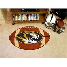 Missouri Tigers Mizzou Football Floor Rug Mat