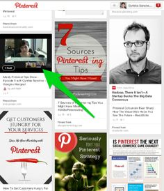 Videos on Pinterest can be hard to see create a custom thumbnail