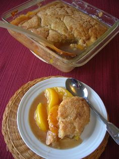 PEACHY PEACH CRISP « The Southern Lady Cooks
