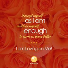 Accepting Me As I Am...Working to Be Better #LOMDay2014